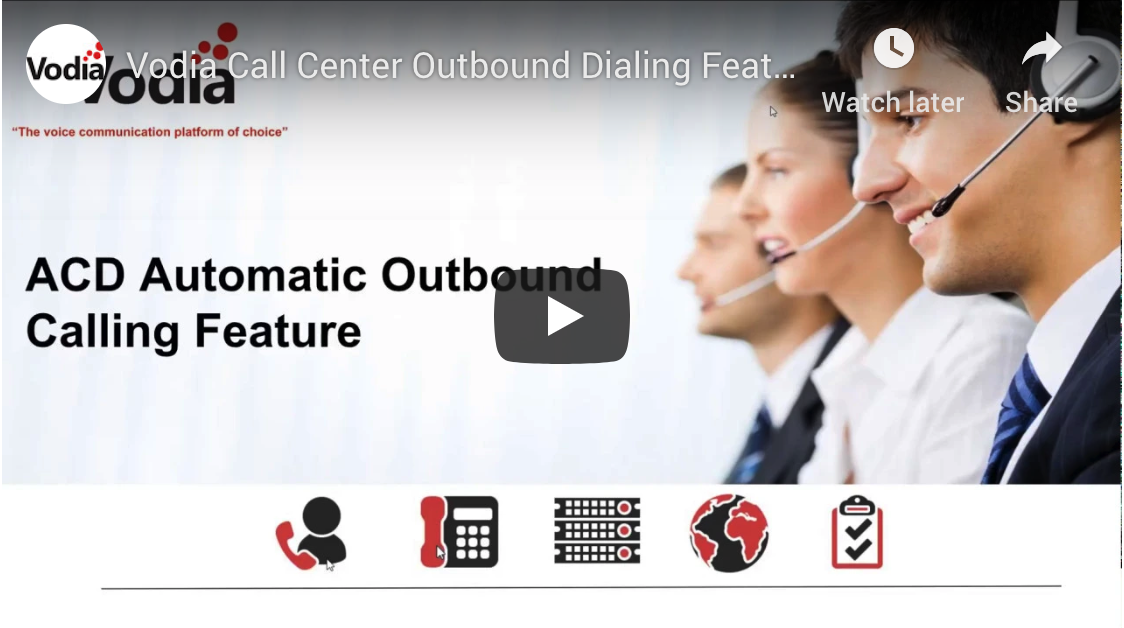 Outbound Dialing Feature